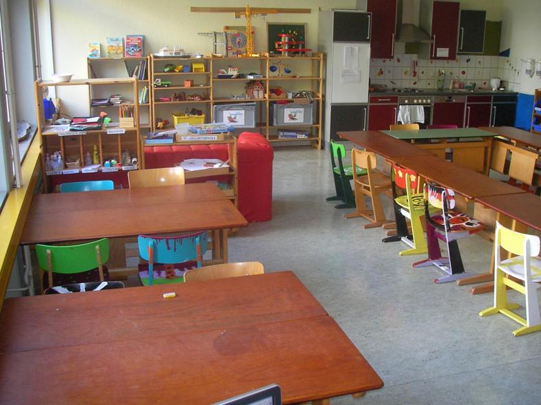 Hortgruppe in der Sommertalschule
