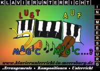 Klavierunterricht-in-Meersburg: Arrangements - Kompositionen - Unterricht