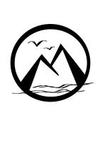 Logo mit Regionalbezug: M für Maurisch, Berge + unser Bodensee