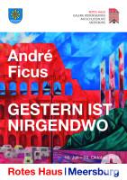 Plakat André Ficus © Galerie Bodenseekreis