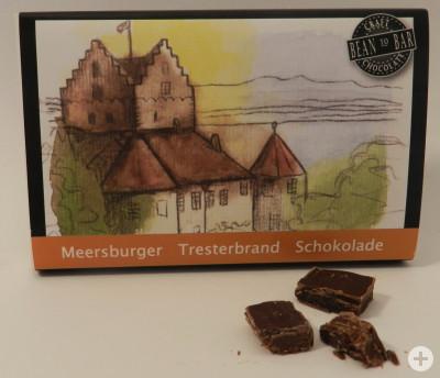 Meersburger Grauburgunder Tresterbrand Schokolade, Bean-to-Bar
