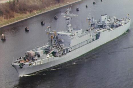 """Patenschiff A 1418 """"Meersburg"""""""