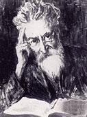 Portrait von Fritz Mauther in schwarz-weiß.