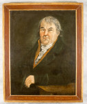 Gemaltes Portrait von Franz Anton Mesmer.