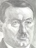 Schwarz-weiß Portrait von Georg Seyfried.