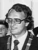 Portrait Horst Eickmeyer in schwarz-weiß.