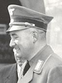 Schwarz-weiß Portrait von Fritz Vogt.