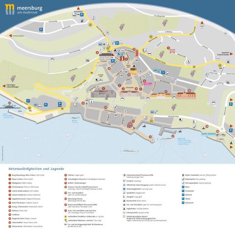 Heilbronn Karte Stadtplan.Meersburg Am Bodensee Stadtplan