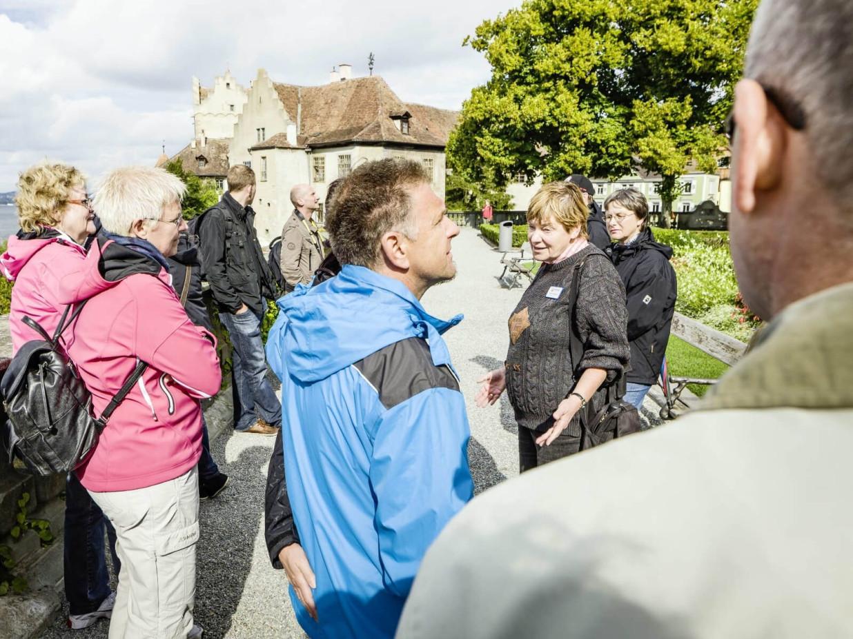 Stadtführung auf der Schlossterrasse