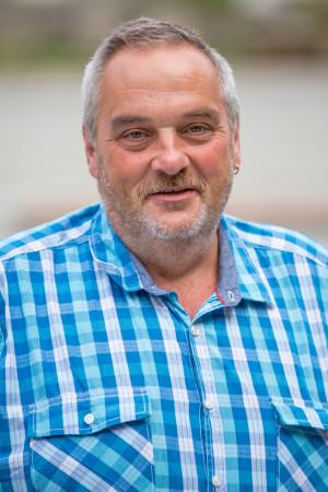Portrait des Gemeinderat Mitglieds Achim Homburger.