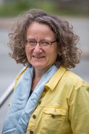 Portrait des Gemeinderat Mitglieds Christine Ludwig.