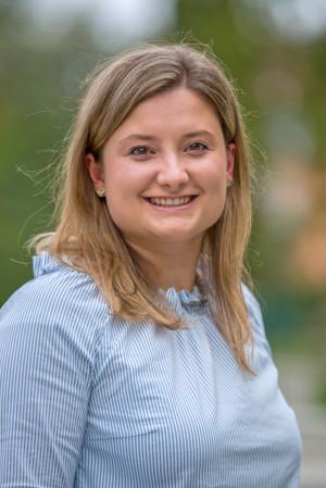 Portrait des Gemeinderat Mitglieds Magdalena Malin.