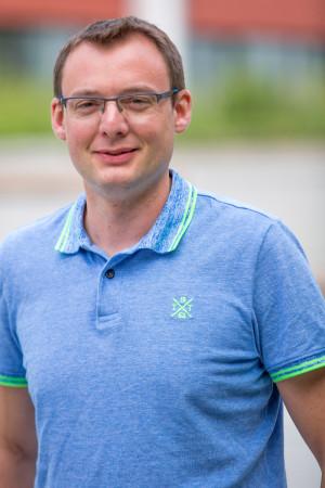 Portrait des Gemeinderat Mitglieds Phillip Wurster.