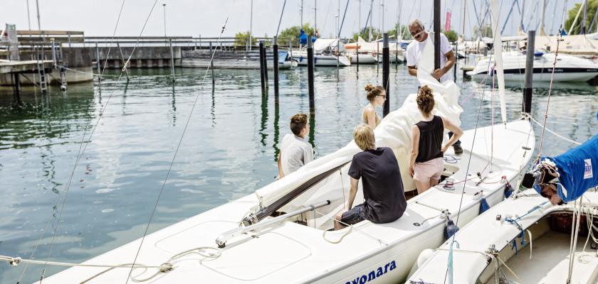 Segelboot Meersburg