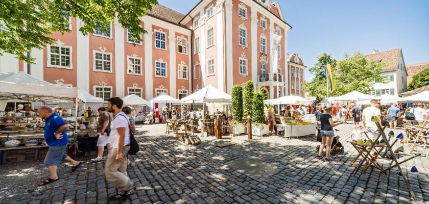 Kunsthandwerkermarkt Meersburg