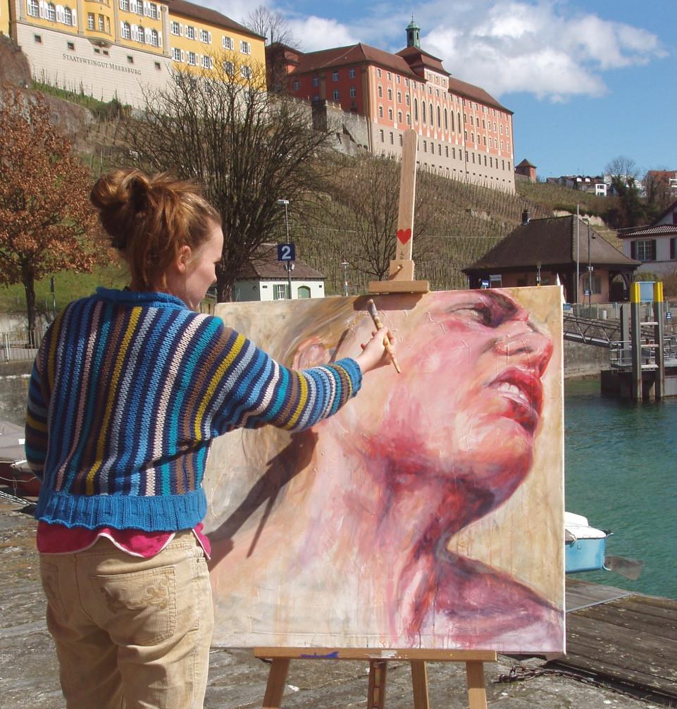 Gemälde Jugendkunstschule