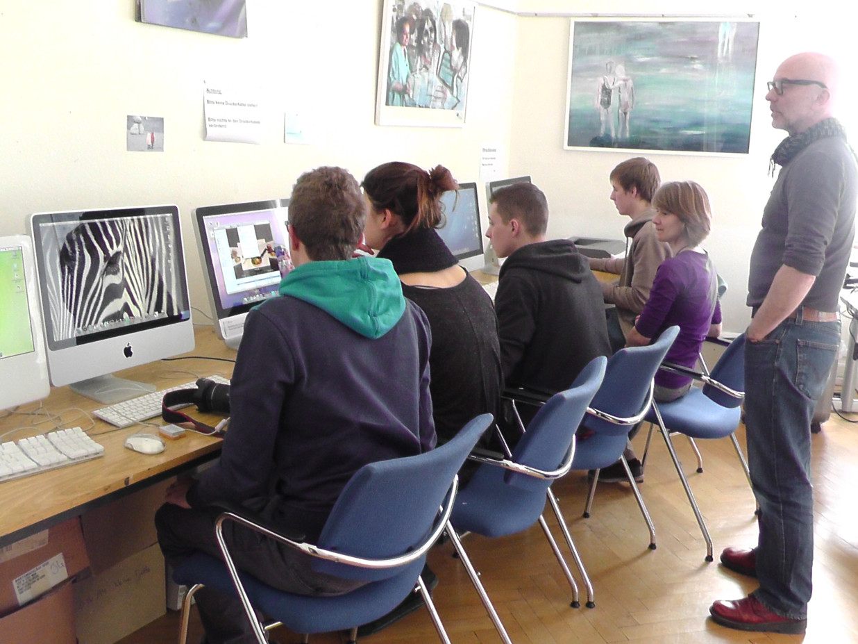 Jugendkunstschule Vorstudium der Gestaltung