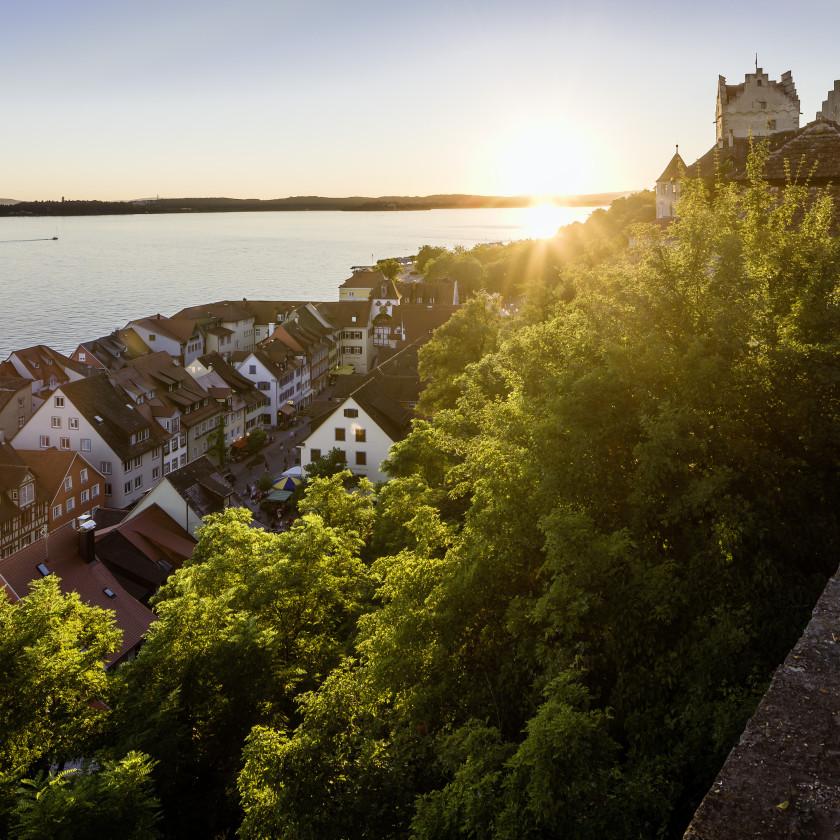 Sonnenuntergang Meersburg