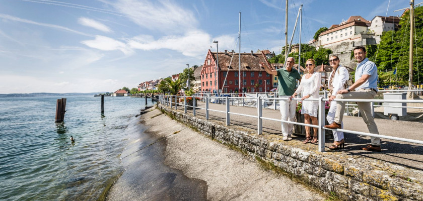 Promenade in Meersburg