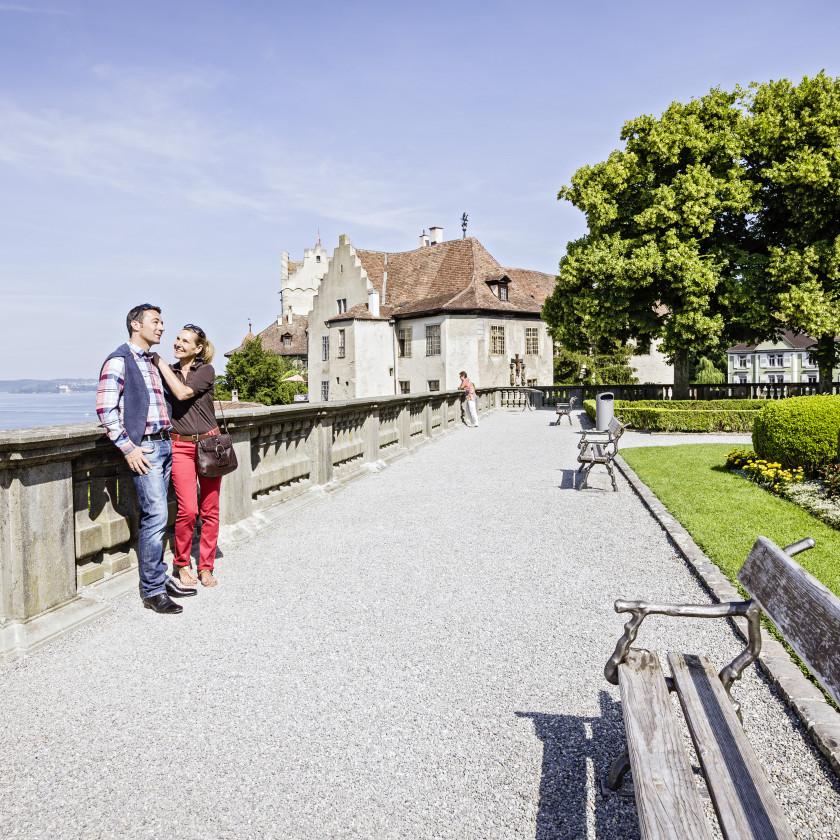 Schlossterrasse Meersburg