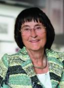 Monika Taubitz in ihrer Wohnung in Meersburg, wo sie seit 1965 lebt.