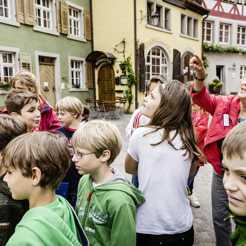 Kinderstadtführung Meersburg